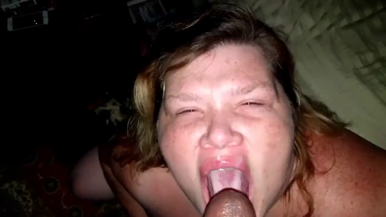 Black Guy Cumming In Fat Married Wife's Mouth