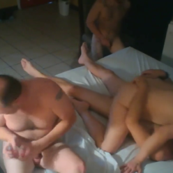 Cheating Married Woman Fucked By Three Guys