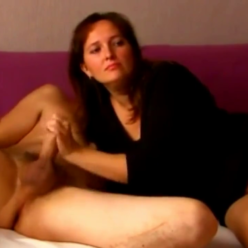 Sexy Married Woman Sucking Her Lover's Cock